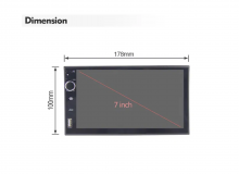 4-ядрена универсална навигация двоен дин ATZ, Android 10, RAM:2GB, ROM:16GB