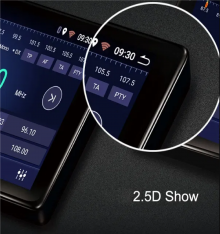 ATZ 4-ядрена навигация двоен дин за Peugeot 207, RDS, Android 9.1, 9 инча, 1GB 16GB ROM