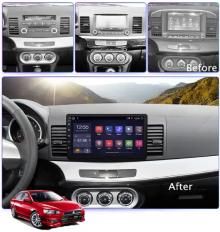 ATZ 4-ядрена GPS навигация за Mitsubishi Lancer, Android 9.1, RAM 1GB, 16GB RDS