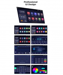 ATZ 4-ядрена GPS навигация за Hyundai Sonata, Android 10, 2GB RAM, 16GB