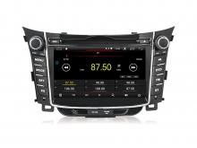 Навигация двоен дин за HYUNDAI I30 (11-15) с Android 10 HY7010H GPS, WiFi, DVD 7 инча