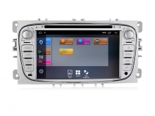Мултимейна навигация двоен дин за Ford F4402H, ANDROID 10, DVD, 7 инча