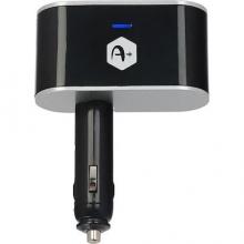 Адаптер за кола с A+, 2 USB порта, 3.1А