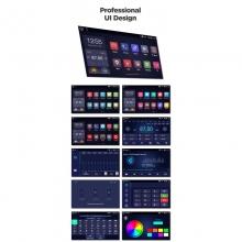 4-ядрена GPS навигация ATZ за Mitsubishi ASX, Android 10, RAM 2GB, 16GB