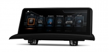 Мултимедия двоен дин с навигация за BMW X3 E83 QB10X3UNS GPS, ANDROID 10, WiFi, 10.25 ин