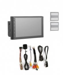 Четириядрена навигация двоен дин AT 7023 7 инча, Android 9, 1GB RAM, GPS, WiFi + камера