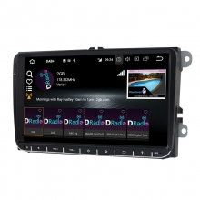 4-ядрена навигация двоен дин за VW ATZRNS510, GPS, RAM 2GB, ANDROID 10, 9 инча