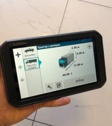 GPS навигация за камион Garmin DEZL 780LMT 7 инча + доживотни актуализации + ТРАФИК