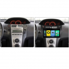 GPS навигация двоен дин за Toyota Yaris (2005-2012) GPS, 1GB, ANDROID 10, 9 инча