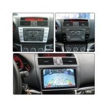 4-ядрена двоен дин навигация ATZ за Mazda 6, GPS, 2GB, ANDROID 10, 9 инча