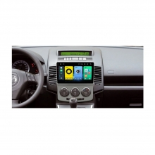Мултимедийна GPS навигация двоен дин за Mazda 5, 1GB, ANDROID 10, 9 инча