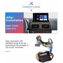 Двоен дин навигация ATZ за BMW X3 E83, GPS, 2GB, ANDROID 10, 9 инча