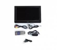 Портативен телевизор с цифров тунер DVB-T2 LEADSTAR D12 12 инча HDMI, ATV, PVR + БОНУС