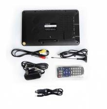 Портативен мултимедиен телевизор с цифров тунер DVB-T2 LEADSTAR D9 9 инча + БОНУС