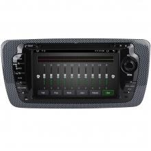 Специализирана мултимедия двоен дин за SEAT Ibiza SE6521H, ANDROID 10, GPS, 6 инча