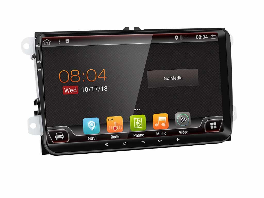 Навигация двоен дин за VW с Android 9.0 2200H  GPS,WIFI 9 инча