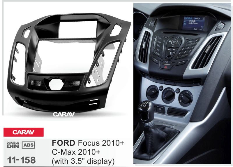 Преден панел за Ford Focus III, C-Max ICE/ACS/11-158
