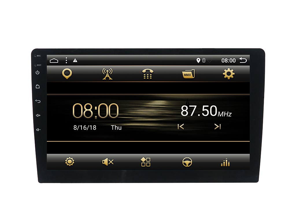Навигация двоен дин за SKODA OCTAVIA (13-17) с Android 8.1 SK5280H GPS, WiFi, 10.1 инча
