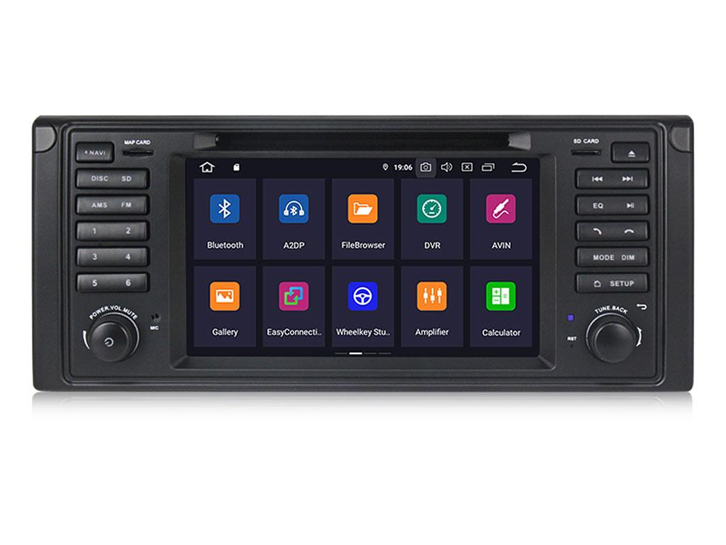 Мултимедийна навигация за BMW E39 BM7531H GPS, DVD, ANDROID 10 WiFi,7 инча