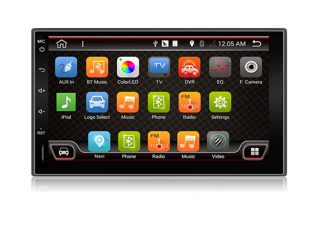 8-ЯДРЕНА УНИВЕРСАЛНА ДВОЕН ДИН НАВИГАЦИЯ ЗА КОЛА 70Z4110H GPS Android 10, 7
