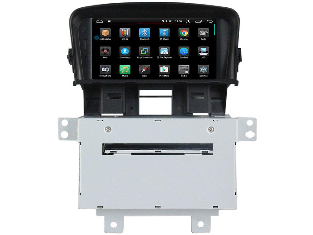 Мултимейна навигация двоен дин за Chevrolet Cruze H8861H, ANDROID 10, DVD
