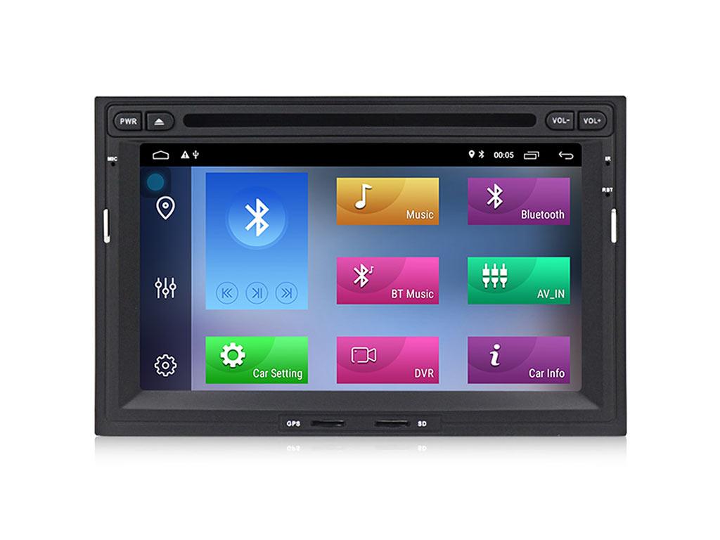 Навигация двоен дин за PEUGEOT 3008,5008 с Android 10 PE7570HGPS, WiFi,DVD, 7 инча