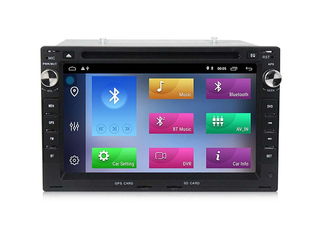 Навигация двоен дин за PEUGEOT 307 (02-10) с Android 10 PE7340H GPS, WiFi,DVD, 7 инча