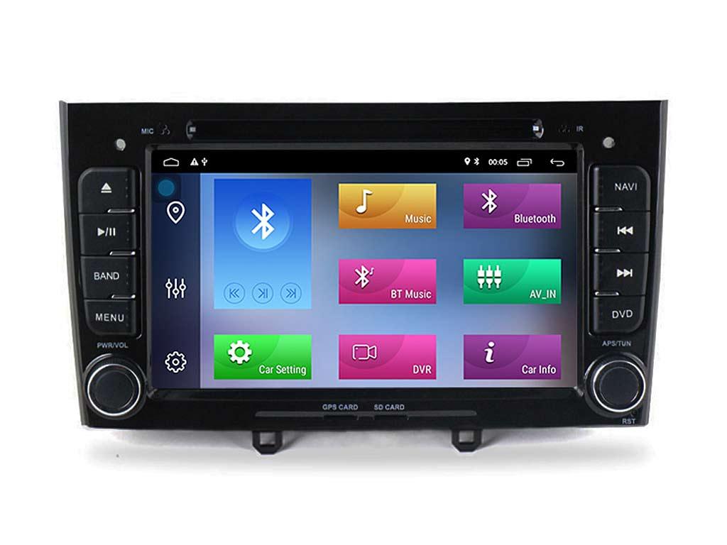 Специализирана мултимедия за PEUGEOT 308,408 с Android 10 PE7370H GPS, WiFi,DVD, 7 инча