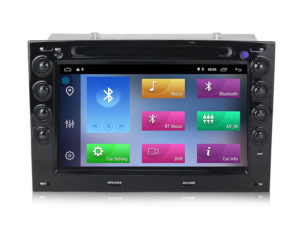 Навигация двоен дин за RENAULT MEGANE (03-10) с Android 10 R7100H GPS, WiFi,DVD, 7 инча