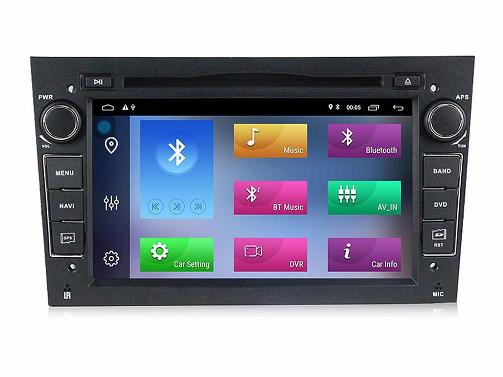 Навигация двоен дин за OPEL ASTRA, VECTRA, CORSA с Android 10 OP0751BH  GPS, WiFi, DVD, 7 инча черна