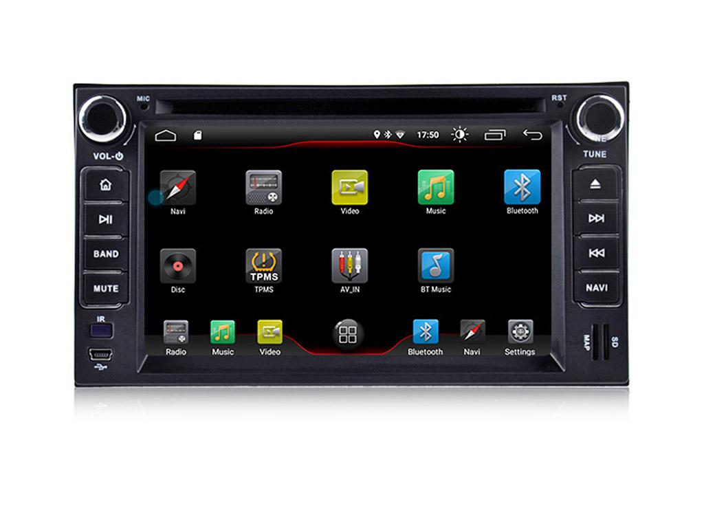 Навигация двоен дин за KIA Sorento,Sportage,Cerato, с Android 9.0 K6580H GPS, WiFi, DVD, 6.2 инча