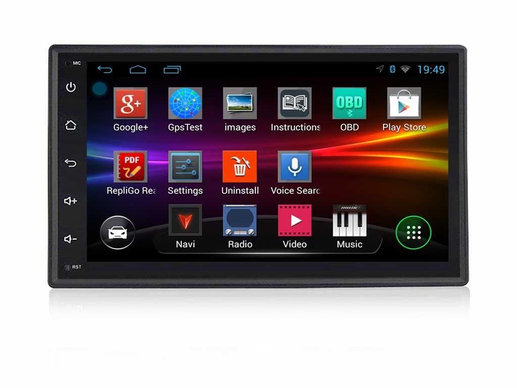 УНИВЕРСАЛНА ДВОЕН ДИН МУЛТИМЕДИЯ ЗА КОЛА 70Z7081H GPS Android 10