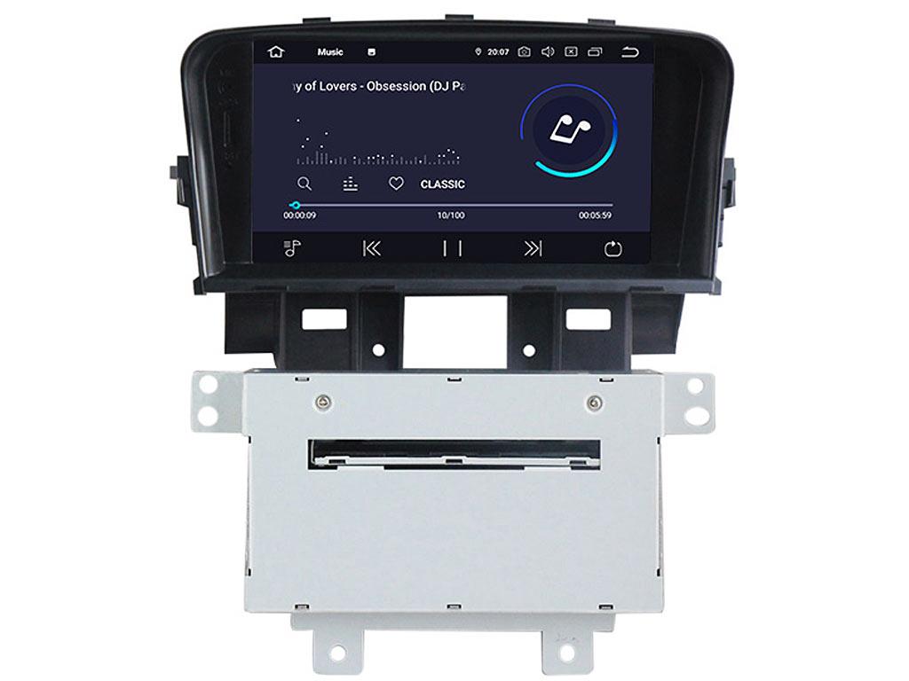 Навигация двоен дин за CHEVROLET Cruze (08-13) с Android 9.0 CH8860H GPS, WiFi,DVD, 8 инча
