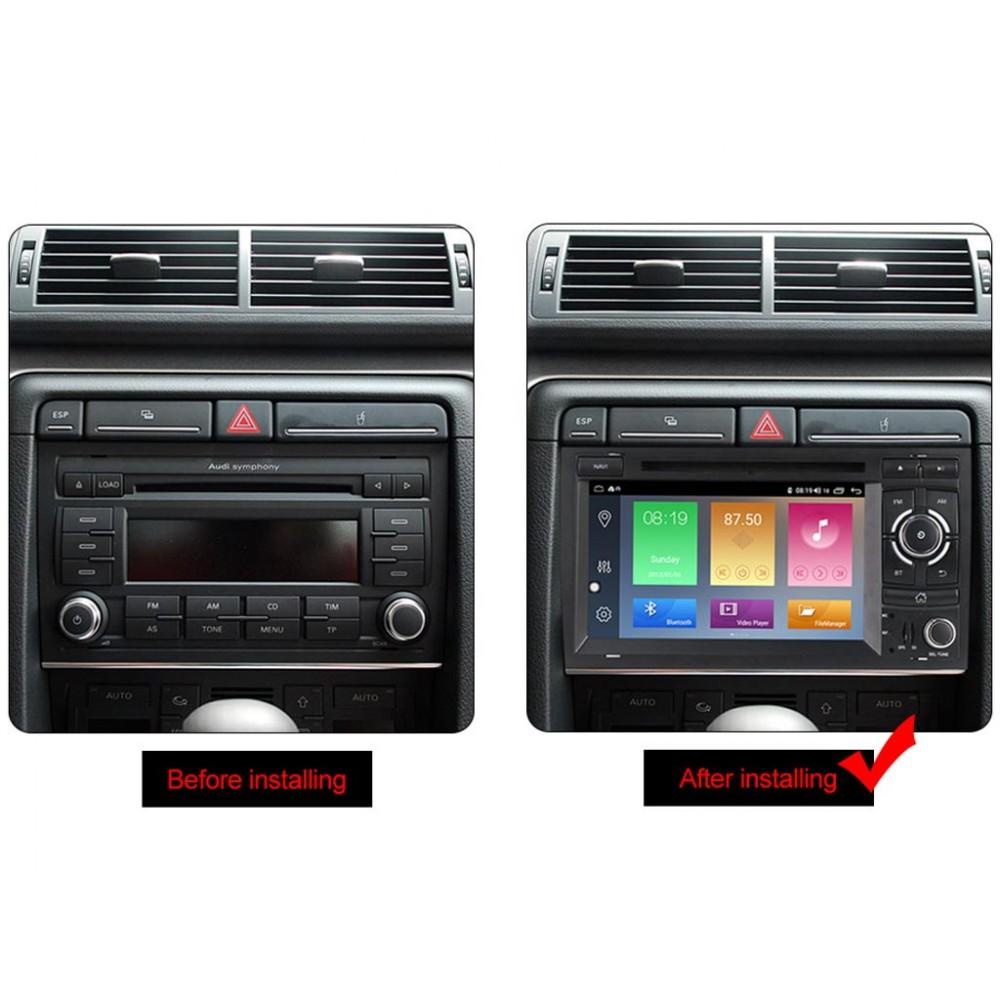 Мултимедийна навигация за AUDI A4 (01-08) AU4470H, ANDROID 10, DVD