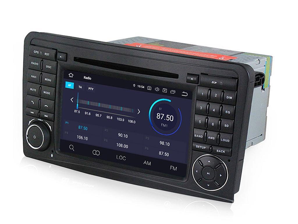 Навигация двоен дин за MERCEDES ML W164, GL X164 M7000АH GPS, ANDROID 9, WiFi, 7 инча