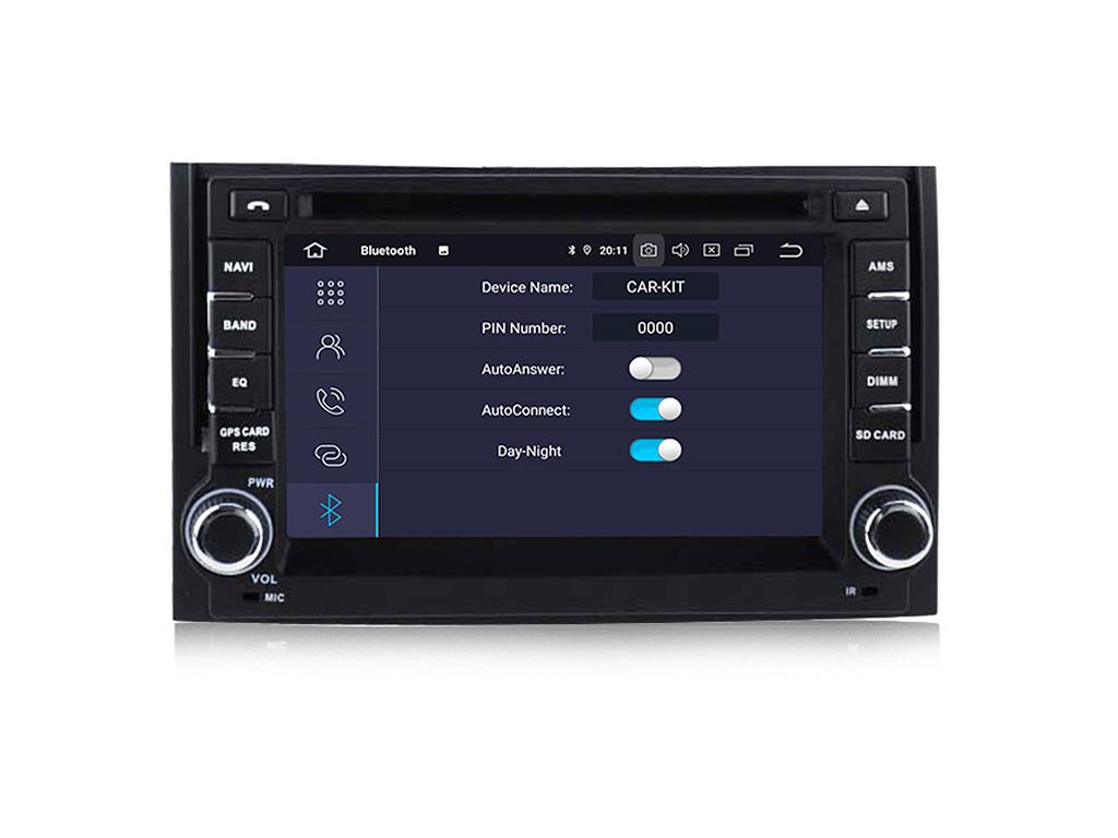 Навигация двоен дин за HYUNDAI H1  (07-12)с Android 9.0 HY627BH  GPS,WiFi, DVD  6.2 инча