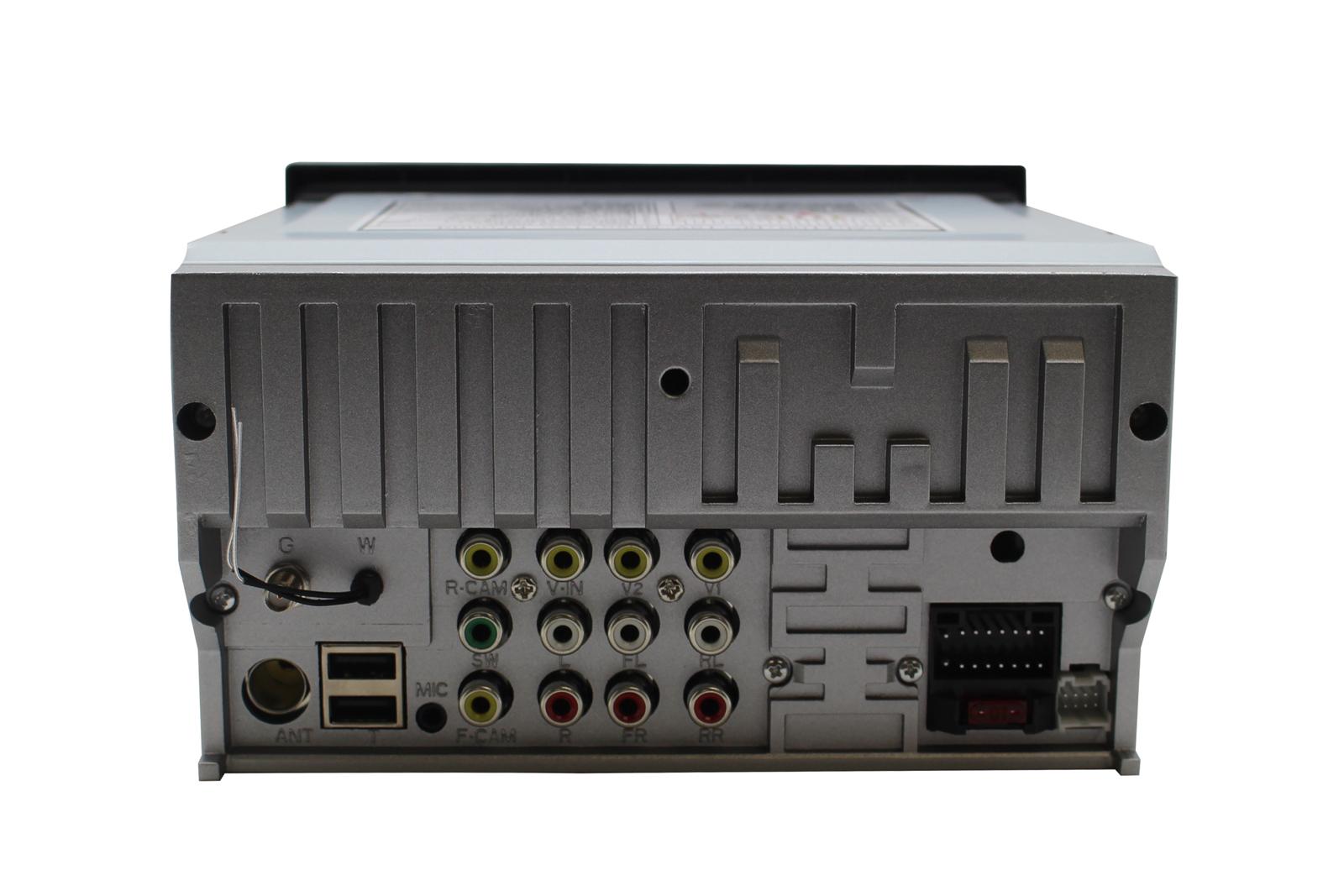 Универсална навигация двоен дин с Android10, 6002, GPS, WiFi, DVD, 6.2 инча