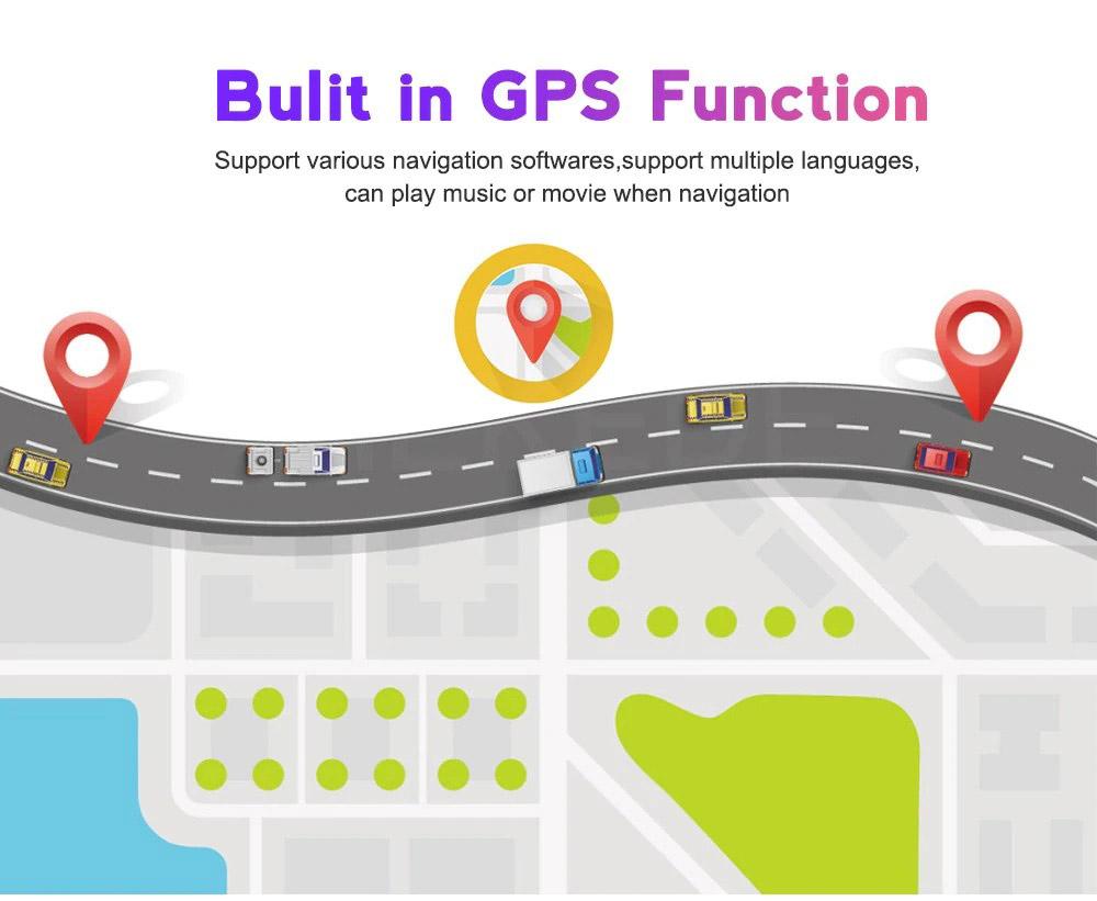 GPS навигация двоен дин за SKODA Octavia / Yeti SK7330H, GPS, 2GB, ANDROID 10, 7 инча