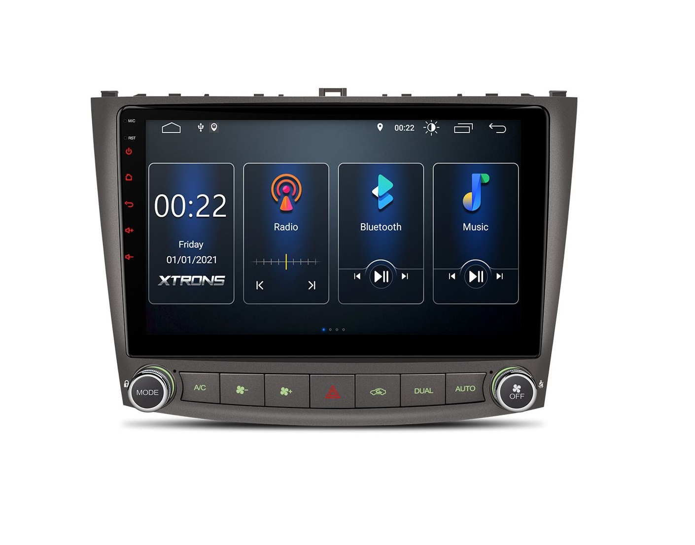 Мултимедийна навигация за Lexus IS350 / IS300 / IS350 PSP10ISL GPS, ANDROID 10, WiFi, 10.1 инча