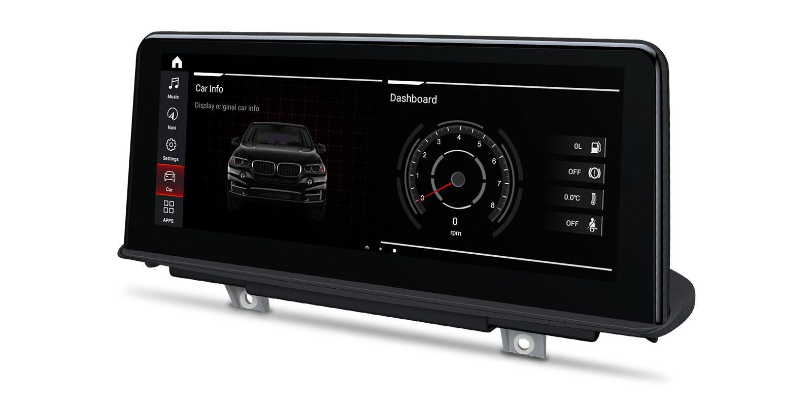Мултимедийна навигация двоен дин за BMW X5 F15 QB10X5NBS GPS, ANDROID 10, WiFi, 10.25 инча