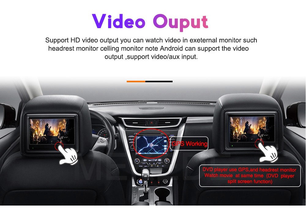 Двоен дин навигация за Mercedes W245, W169 M6912AH, ANDROID 10, DVD, 7 инча