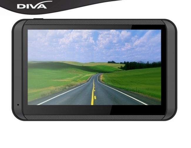 GPS навигация за камион DIVA 5005 FM - 5 инча + България и Европа