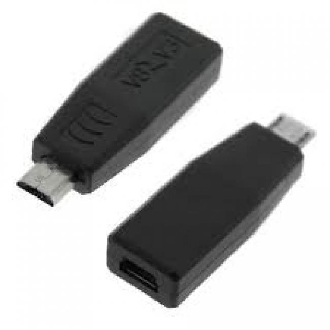 Преходник от Micro USB мъжко към mini USB женско