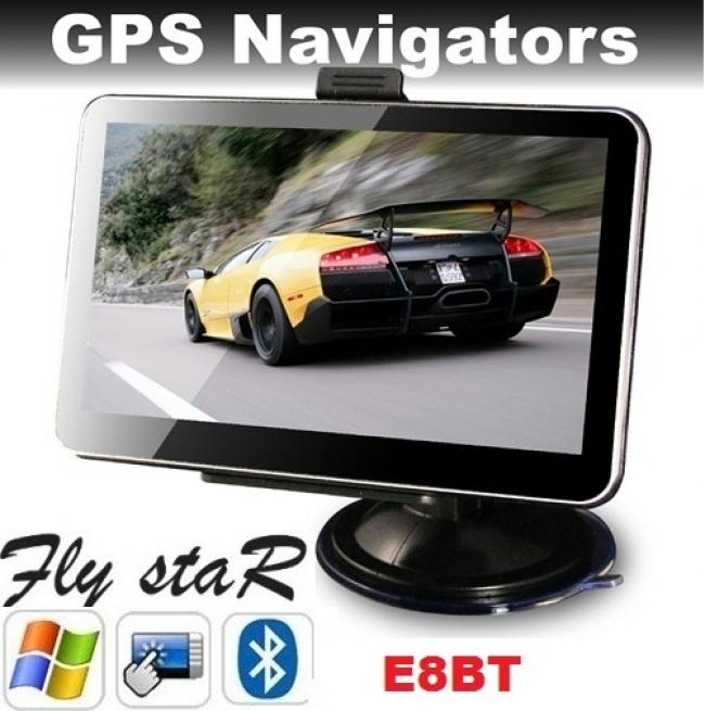 GPS навигация Fly StaR E8BT - 5 инча, BLUETOOTH, 800MHZ