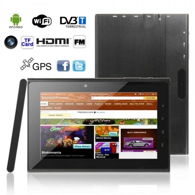 Таблет – 3v1 SE - GPS, DVB-T, 16GB, 1GB RAM
