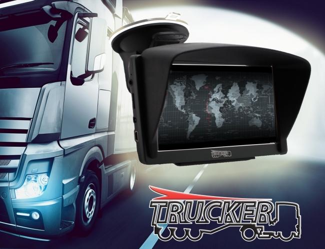 GPS навигация за камиони Trucker 7 – 7 инча, 128MB, 800MhZ, Сенник