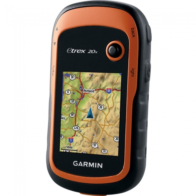 GARMIN eTrex 20x GPS за измерване на площи