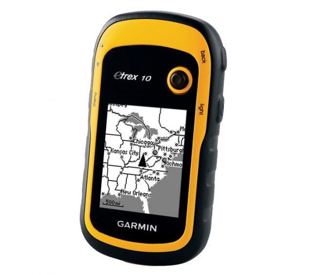 GARMIN ETREX 10 за измерване на площи