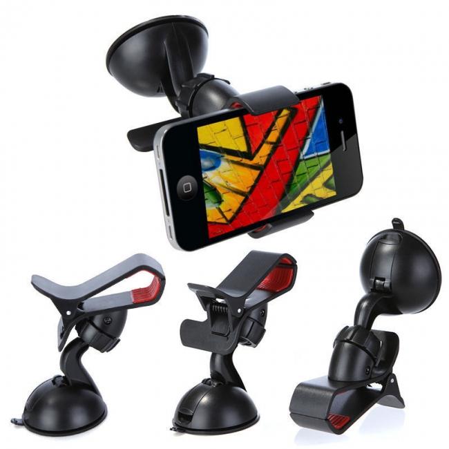Универсална стойка за GPS навигация, смартфон, GSM и PDA