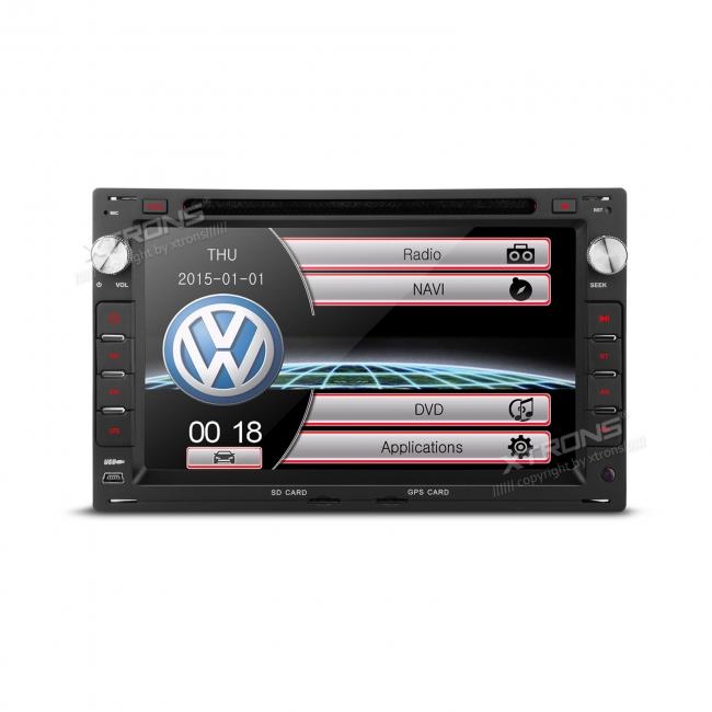 Мултимедия двоен дин за VW PF70MTWS с  GPS, DVD, 7 инча